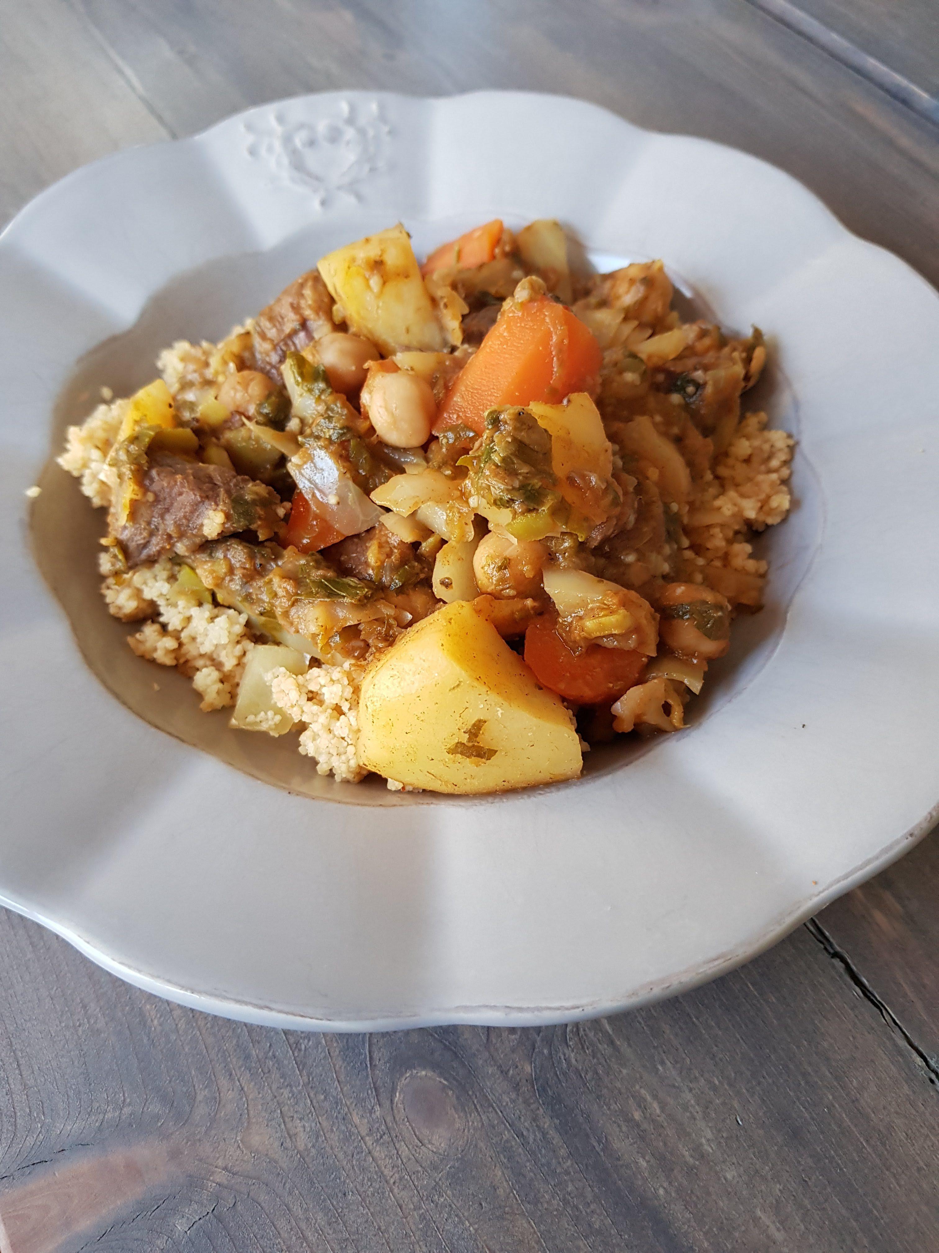 Couscous med lam